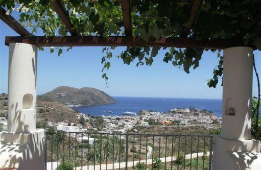 Lipari villette panoramiche con terrazze,cod.ve 773 lipari