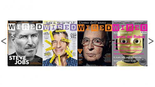 Wired rivista italiana - vendo i primi 72 numeri