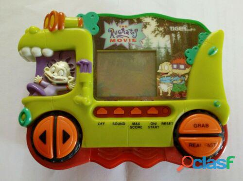 LCD GAME GIG TIGER ELECTRONIC THE RUGRATS MOVIE VINTAGE + ISTRUZIONI PERFETTO 1
