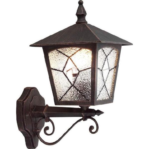 Globo lampada da esterno atlanta alluminio nero 3126