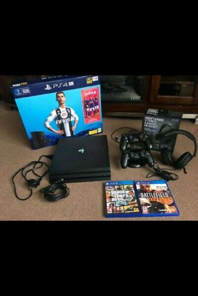 Playstation 4 pro 1tb +giochi