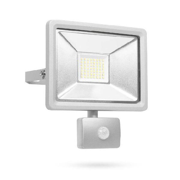 Smartwares luce di sicurezza a led con sensore 30 w grigio