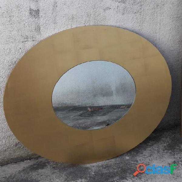 Specchiera lago dorato
