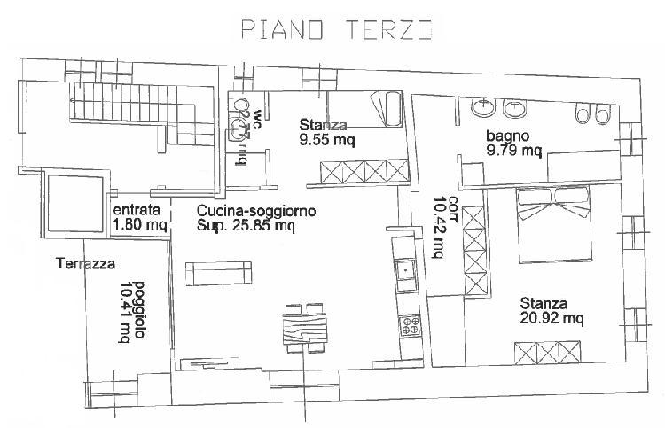 Appartamenti in centro a Pergine Valsugana