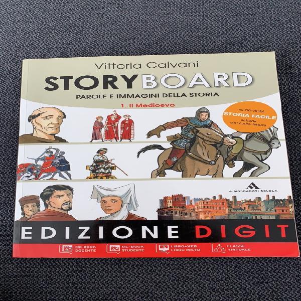 Story board / libro di storia edizione digit/vittoria