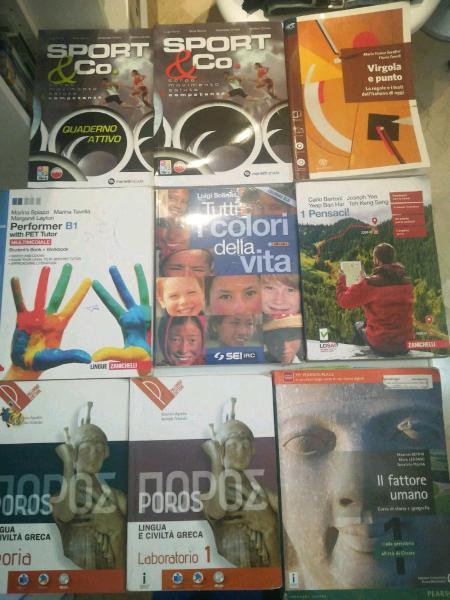 Vendita libri usati per il primo anno della scuola