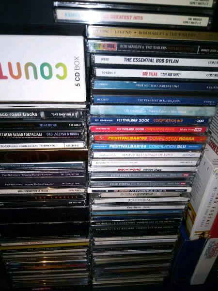 Lotto 100 cd originali di musica