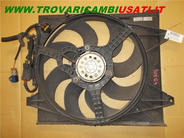 Elettroventola radiatore compl. fiat 500 (312-3p/83) usato