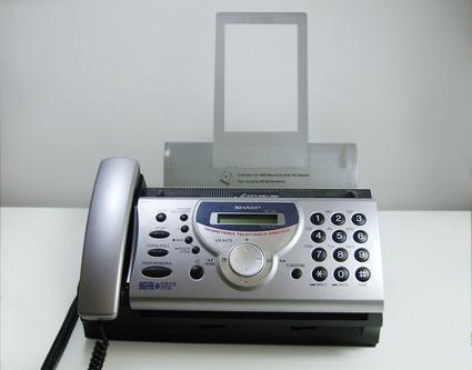 Fax-telefono con segreteria telefonica digitale milano