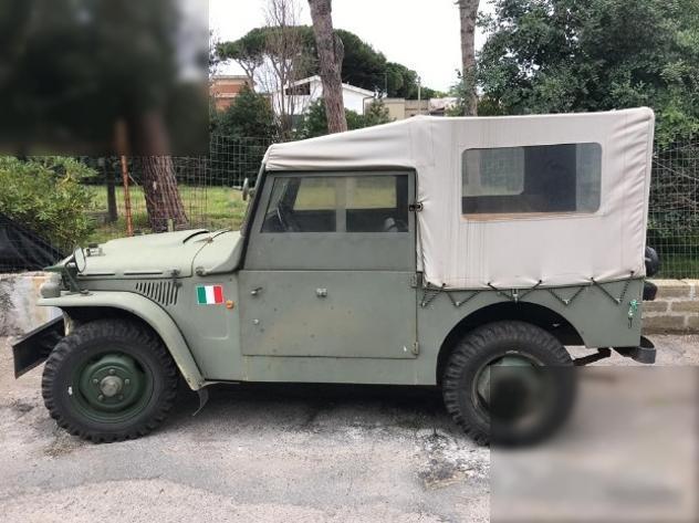 FIAT Campagnola AR militare restaurata