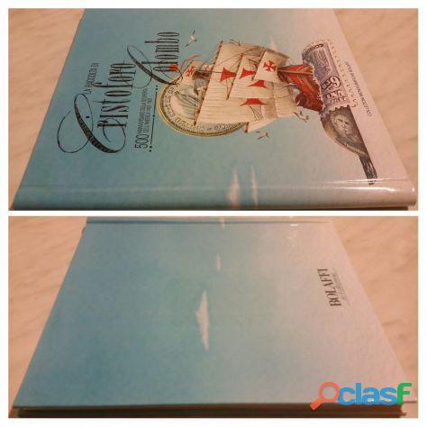 Collezioni monografiche bolaffi:la raccolta di cristoforo colombo 500°anniversario nuovo