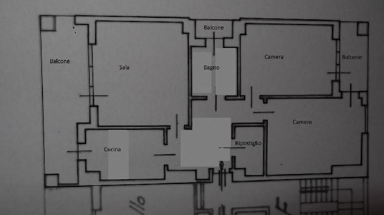 Ampio appartamento con box auto
