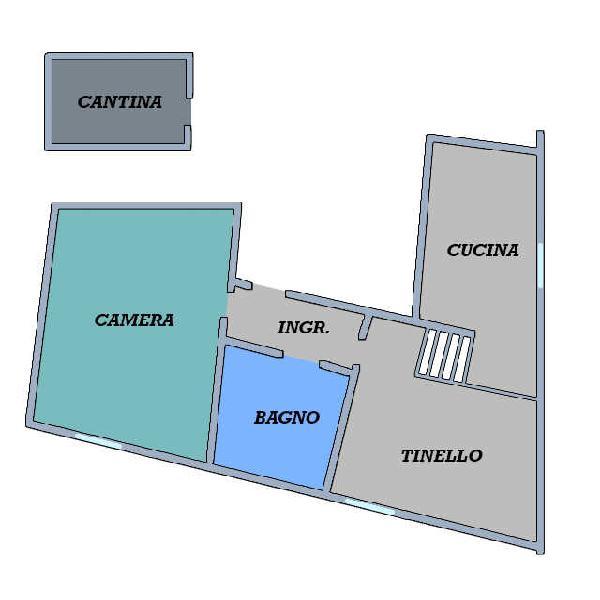 Appartamento - trilocale a 16.costa saragozza, bologna
