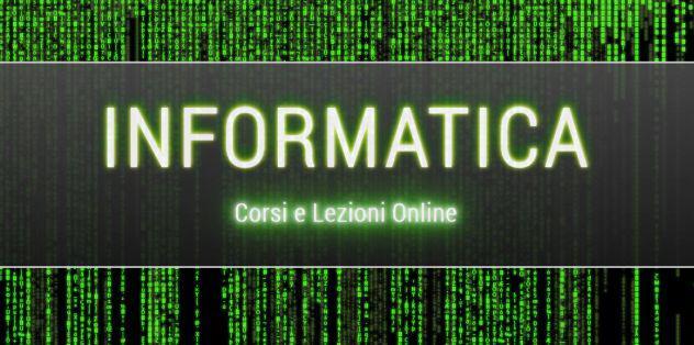 Corsi informatica - c java qt sql html css javascript php