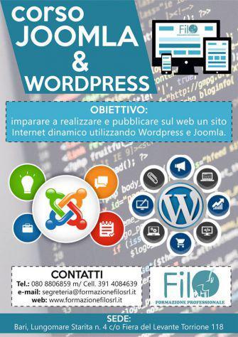 Corso Joomla e Wordpress