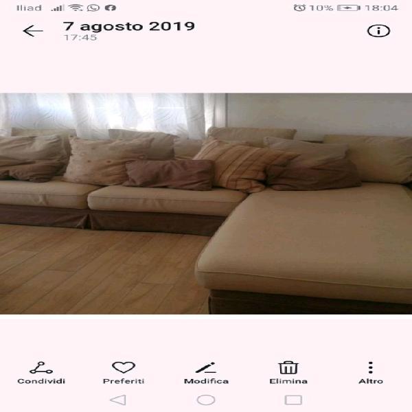 Divano letto poltrone sofa totalmente sfoderabile