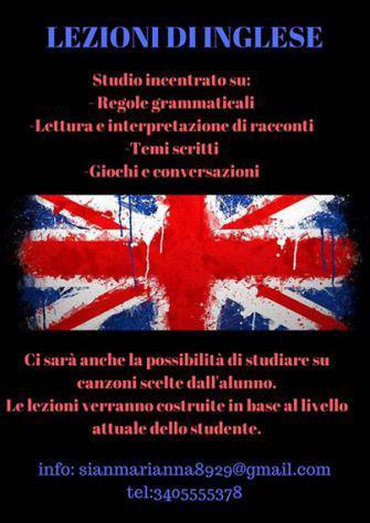 Lezioni o ripetizioni di inglese