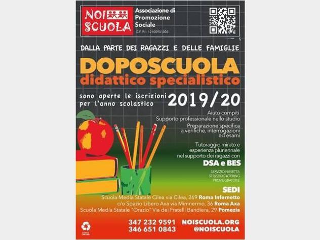 Aiuto per lezioni didoposcuola roma e pomezia retribuzione