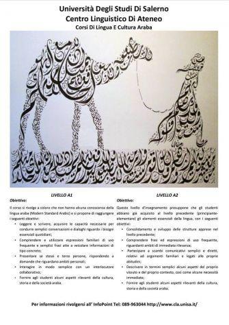 Corsi di lingua araba presso il centro linguistico di ateneo