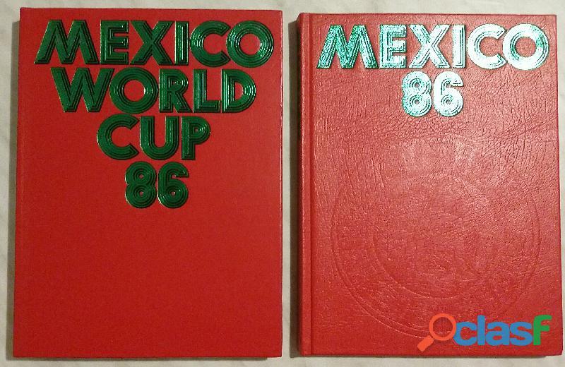 MEXICO WORLD CUP 86 ECCEZIONALE 2 VOLUMI COME NUOVI