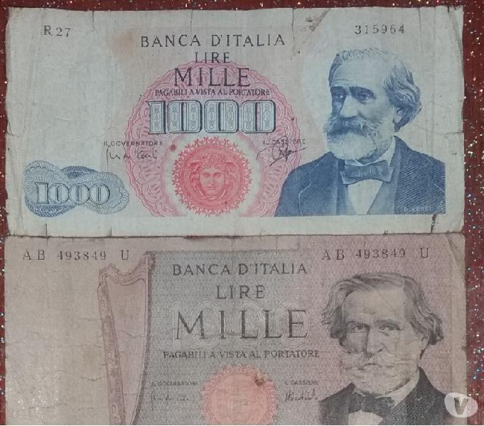 1000 lire del 25 luglio 1964 classificata rara
