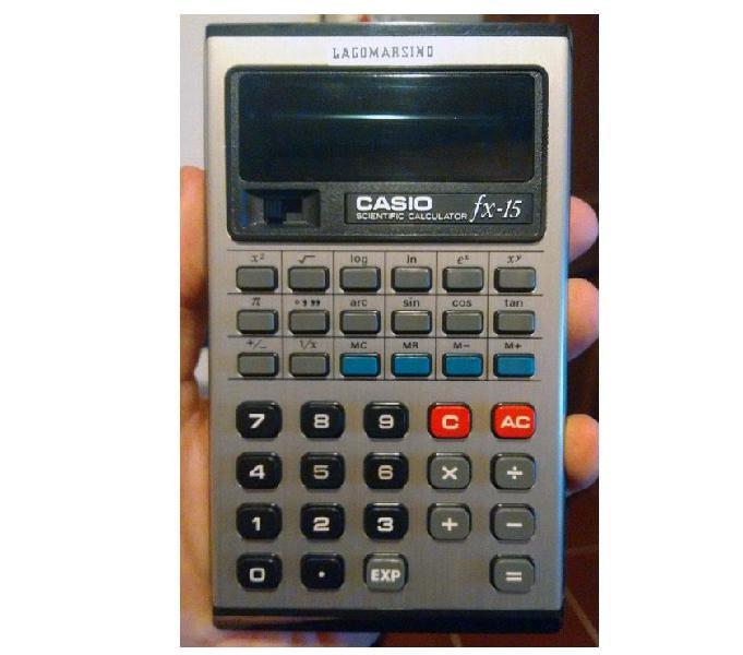 Calcolatrice casio fx-15