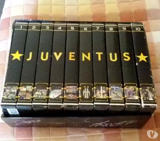 Cofanetto 10 videocassette vhs juve forever 2002