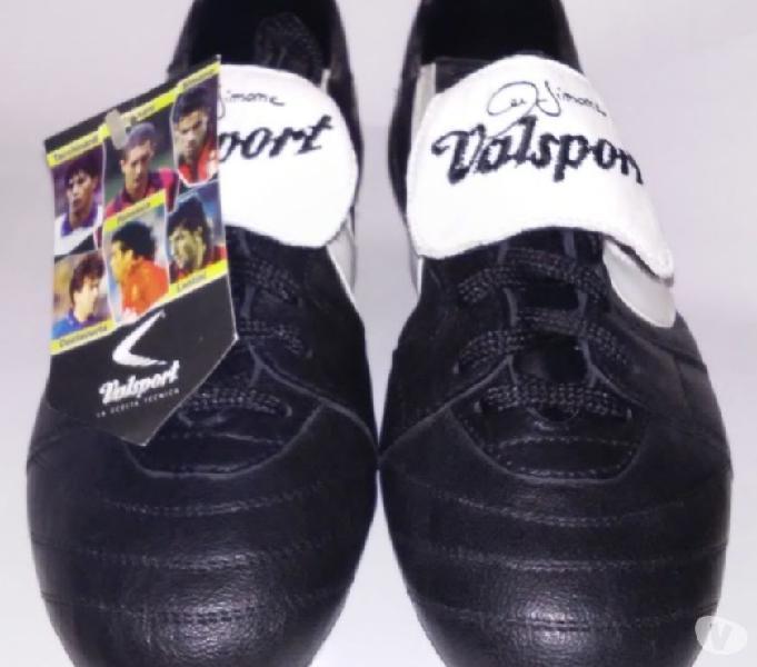 Scarpette valsport calcio vintage da collezione simone milan