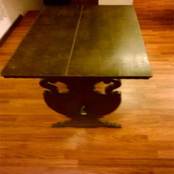 Tavolo con sedie epoca