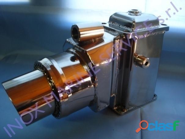 Riser in acciaio inox compatibile con motori tipo: volvo penta