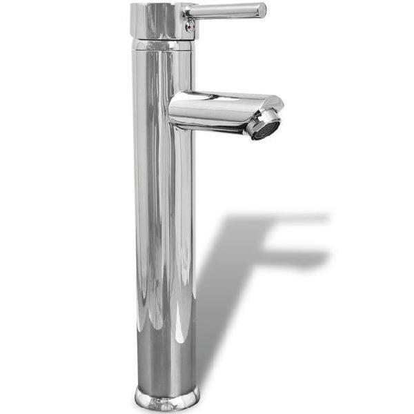 Vidaxl rubinetto miscelatore in ottone da bagno