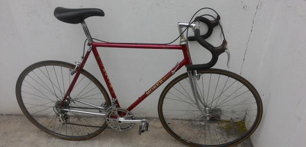 Bici corsa MOSER special 1976 vintage-Campagnolo Record mis.
