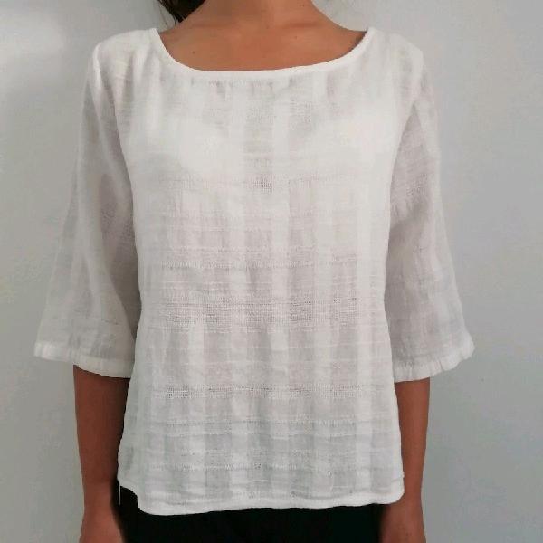 Camicia lino donna