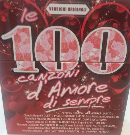 Le 100 canzoni d'amore di sempre e le 100 canzoni di sempre