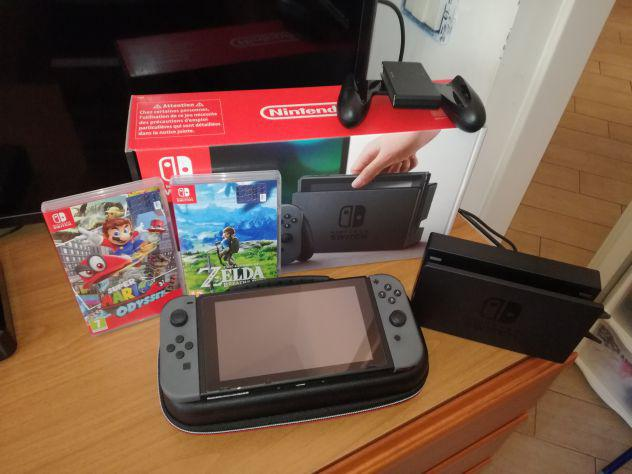 Nintendo switch come nuovo (xaj4003)