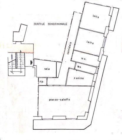Rif. 2-158 - misterbianco - appartamento quadrivani luminoso