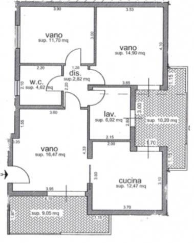 Rif. 2-174 appartamento con garage in