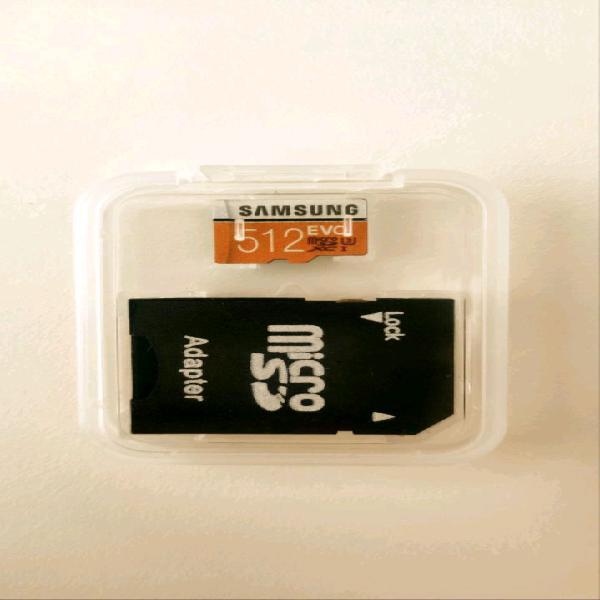 Samsung micro SD da 512 GB Nuova