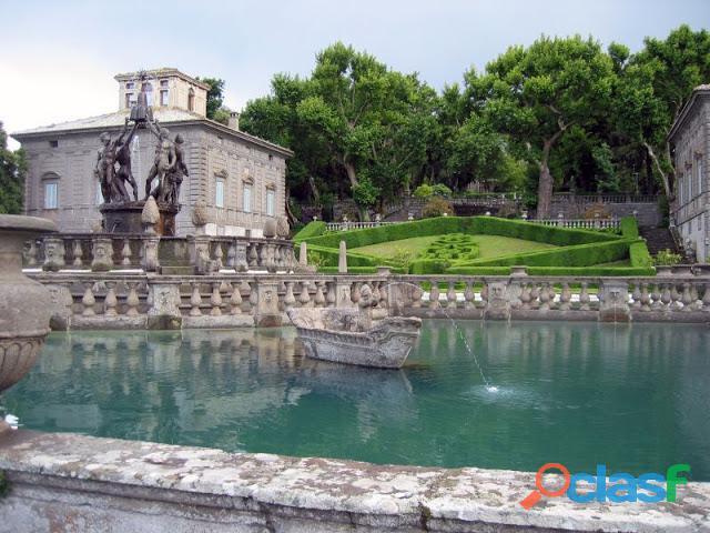 Bomarzo e villa lante: due giardini fiabeschi a confronto