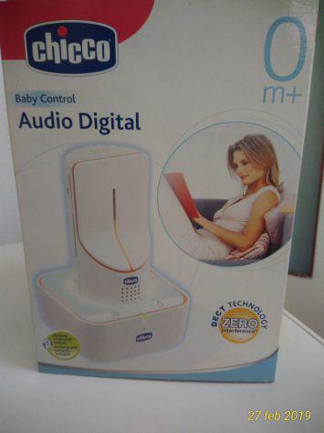 Radiolina baby audio digital control chicco