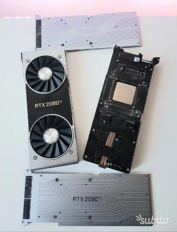 Nvidia dissipatore geforce rtx 2080 ti founder originale
