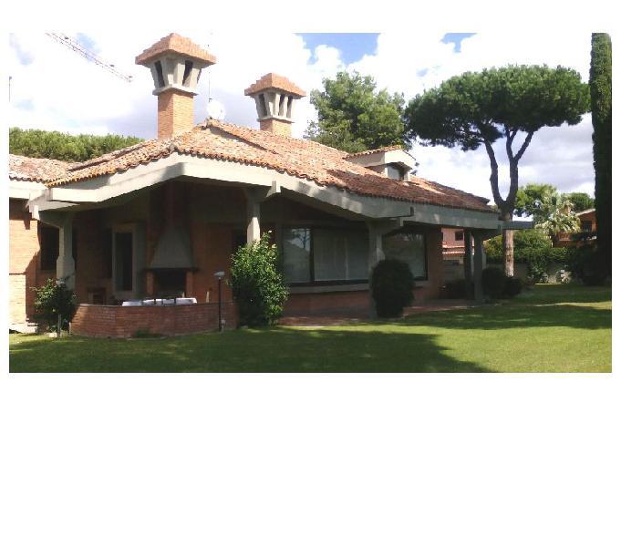 Villa unifamiliare prestigiosa all'infernetto