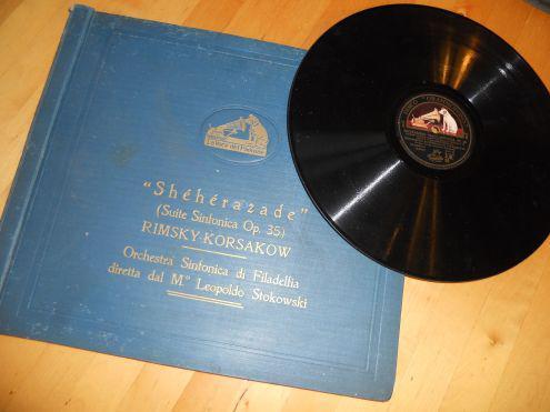 Album 5 dischi 78 giri