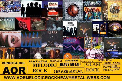 Cd hard rock heavy metal thrash power aor black death nwobhm
