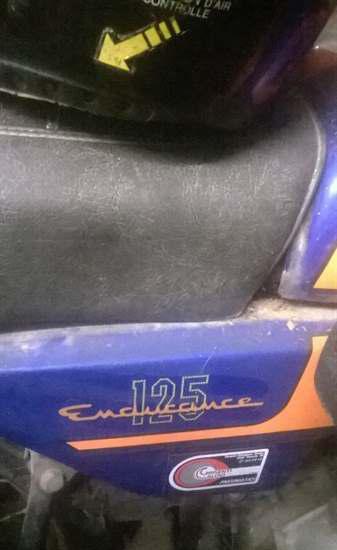 Honda CB125 Endurance