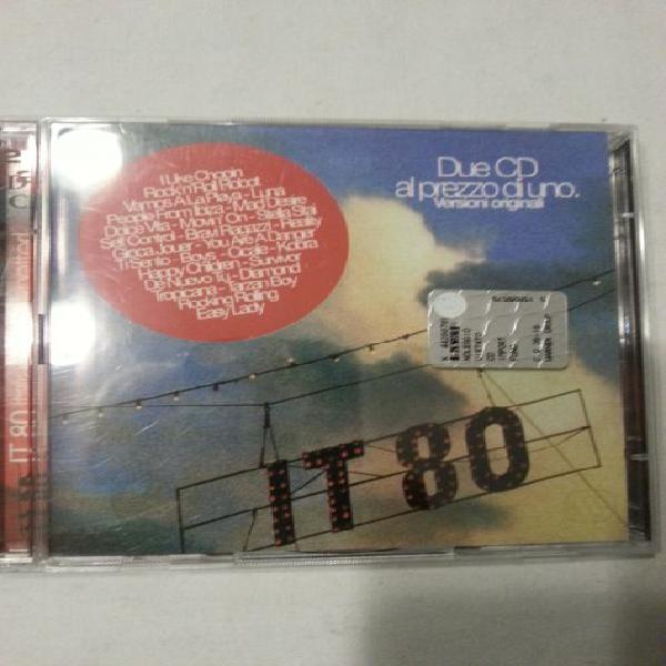 It 80 - 2 cd compilation - cd raro