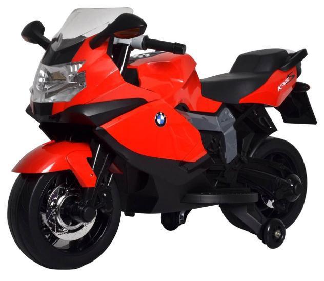 Moto elettrica per bambini 12v bmw k1300s rossa