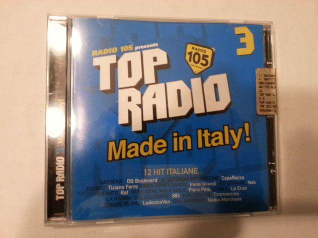 Top radio made in italy 3 radio 105 cd