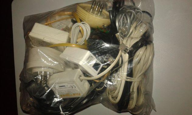 Stock cavi telefonici, prese tripolari e filtri adsl