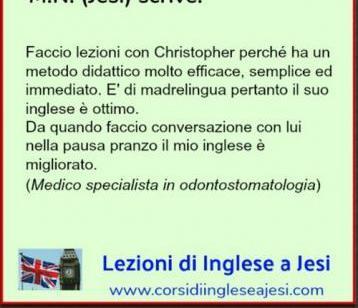 Lezioni di Inglese a Jesi